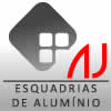 Logo AJ Esquadrias de Alumínio