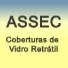 Logo ASSEC Cobertura de Vidro Retrátil
